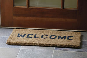 Our welcome mat is always out, no matter which door you enter.