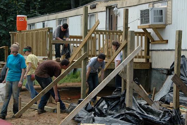 Appalachia Service Project construction